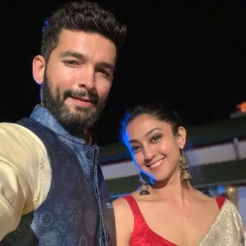 Diganth Manchale with Aindrita Ray (Wife)