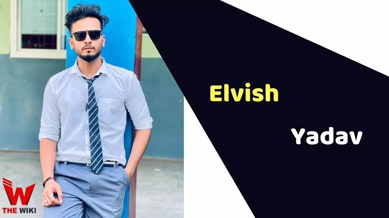 Elvish Yadav (YouTuber)