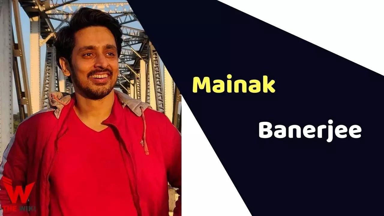 Mainak Banerjee (Actor)