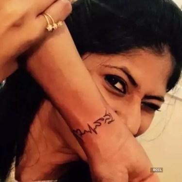 Neha Chowdary Tattoo