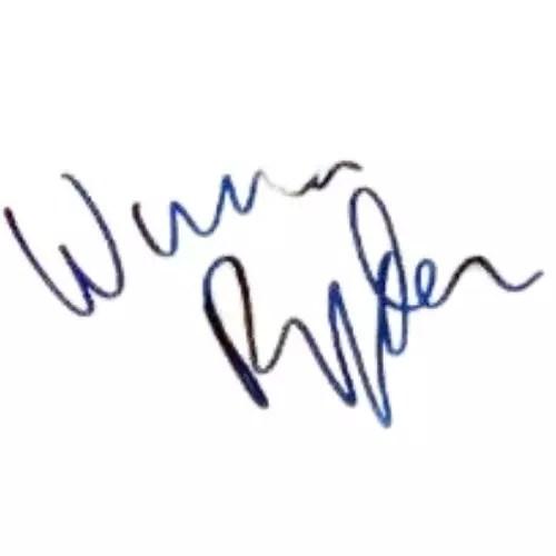 Winona Ryder Signature