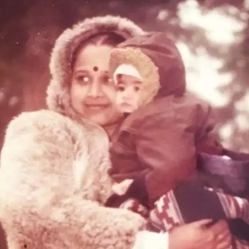 Donna Munshi with Mother