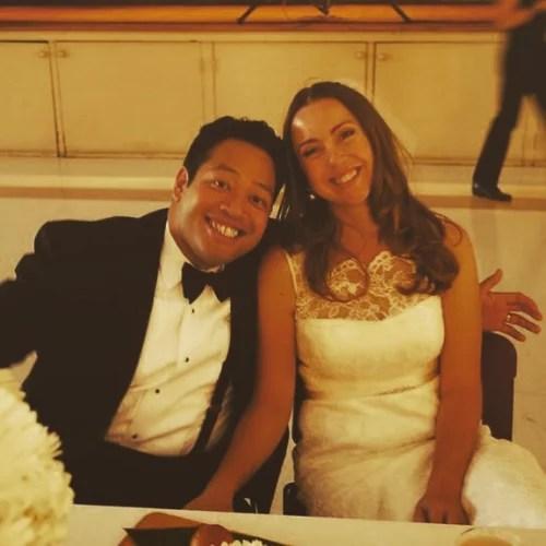 Eugene Cordero and Tricia McAlpine