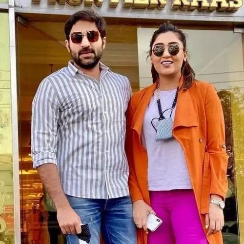 Shireen Mirza and Hasan Sartaj
