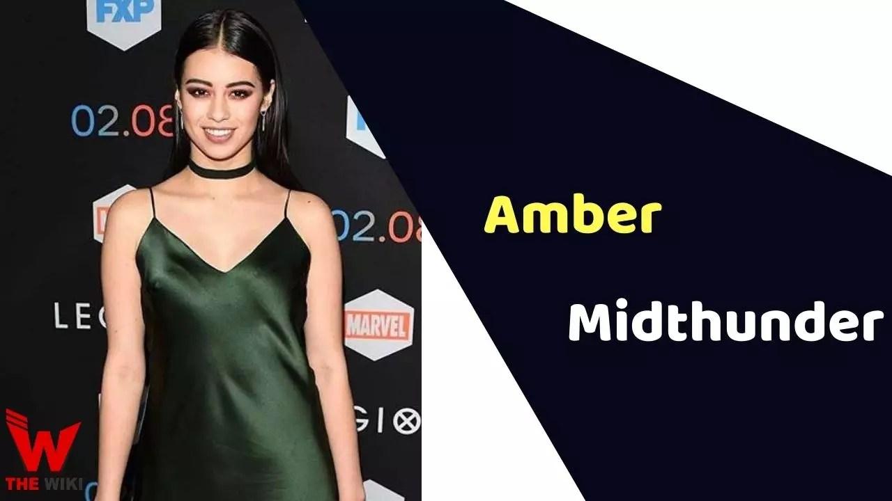 Amber Midthunder (Actress)