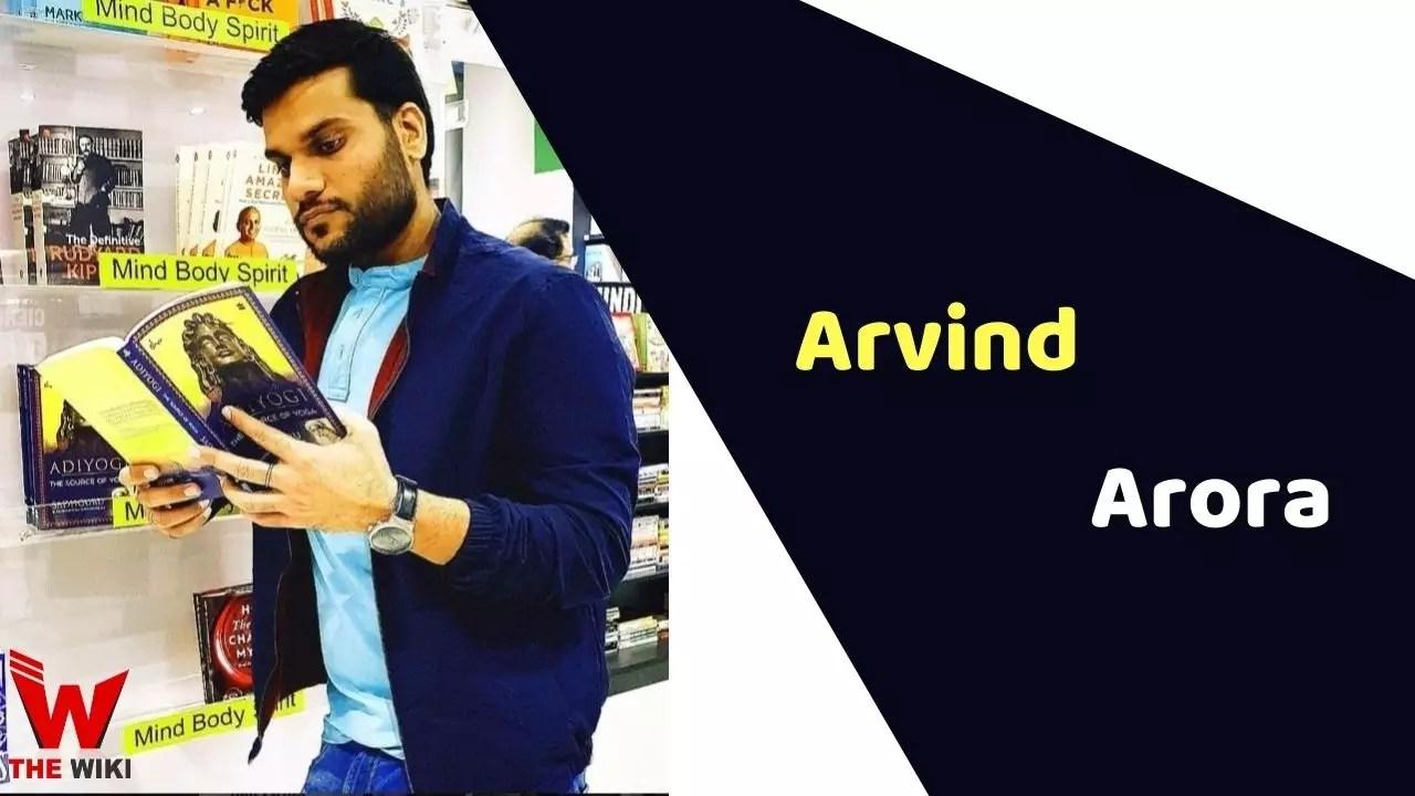 Arvind Arora (A2 Motivation)