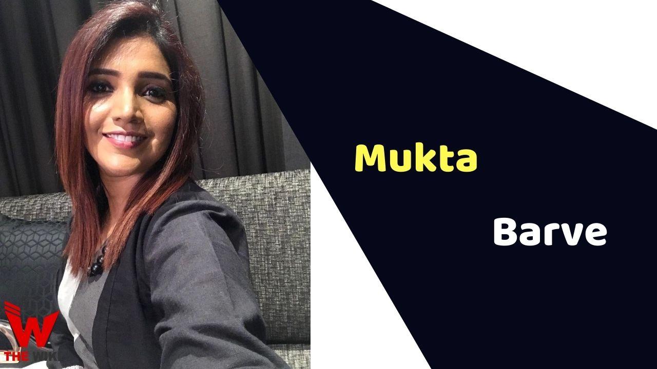 Mukta Barve (Actress)