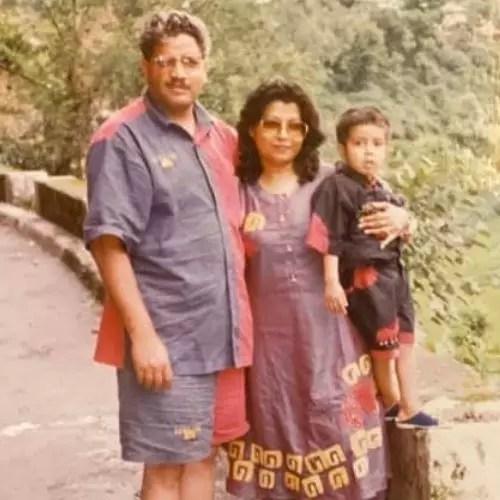 Varun Sharma Family