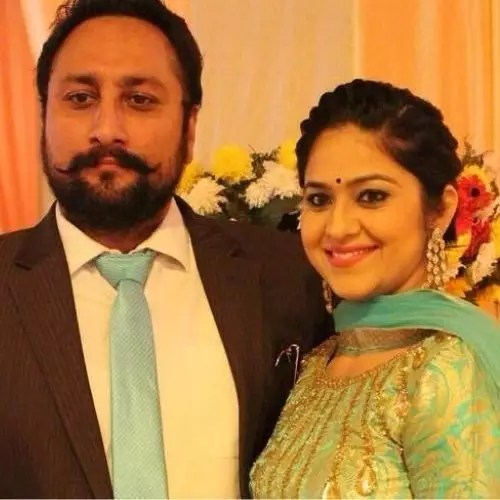 Navjyot Randhawa with Husband