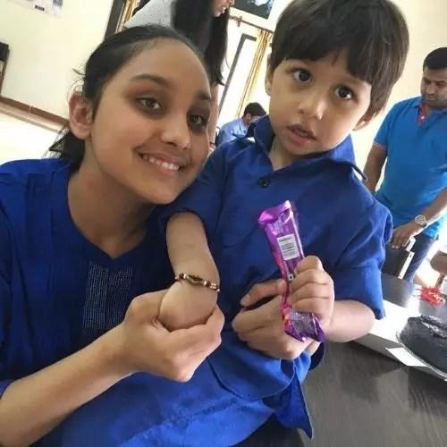 Navjyot Randhawa's Children