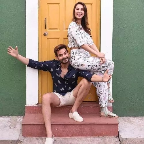 Rochelle Rao and Keith Sequeira