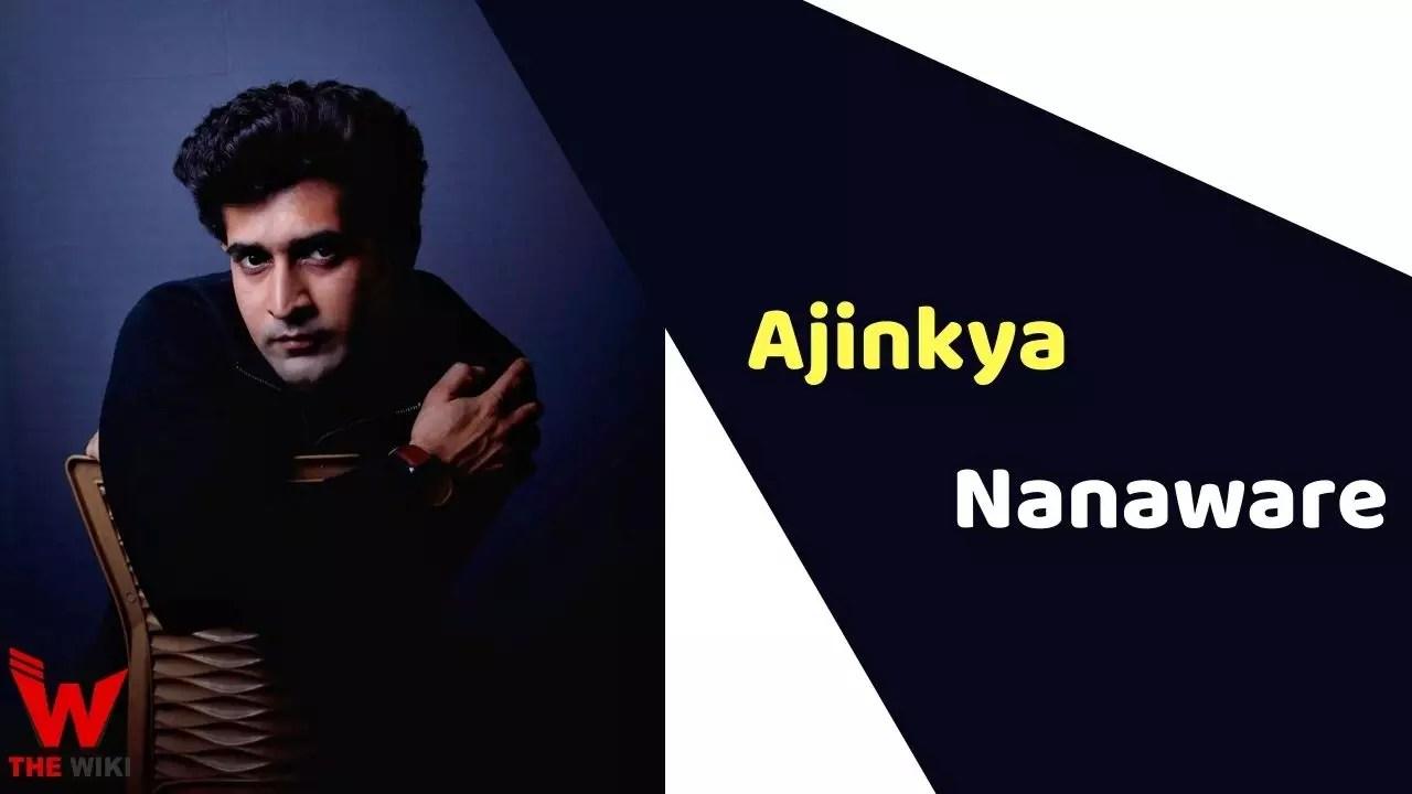 Ajinkya Nanaware (Actor)