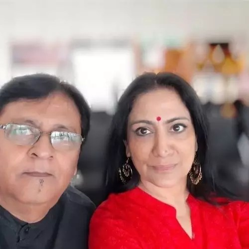 Alankrita Sahai Parents