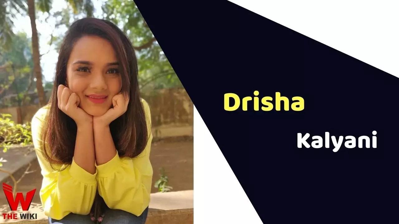 Drisha Kalyani (Actress)