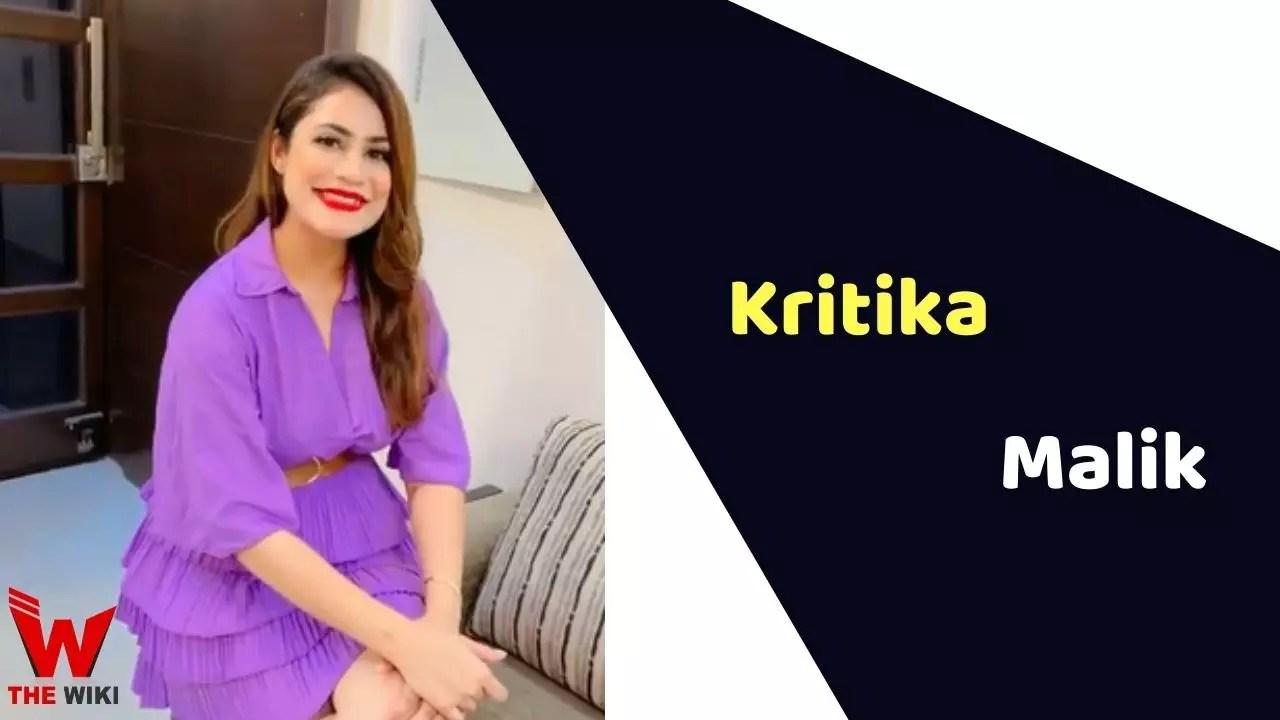 Kritika Malik (YouTuber)
