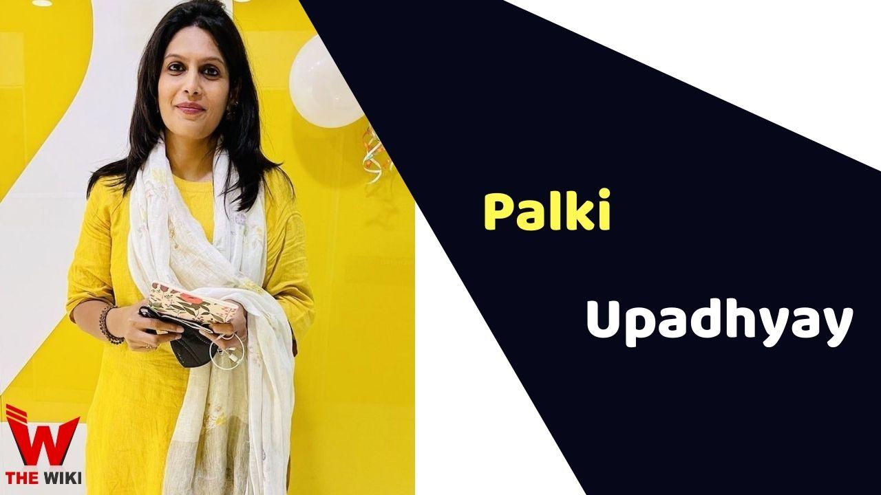 Palki Sharma Upadhyay (Journalist)