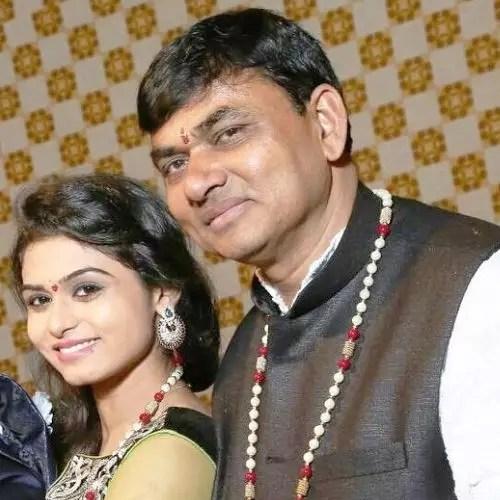 Sunidee Chauhan's Father