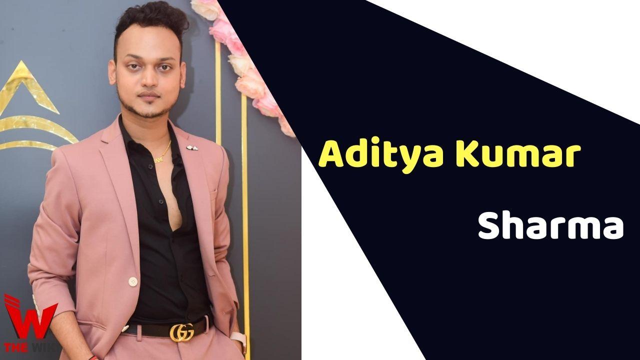 Aditya Kumar Sharma (Makeup Artist)