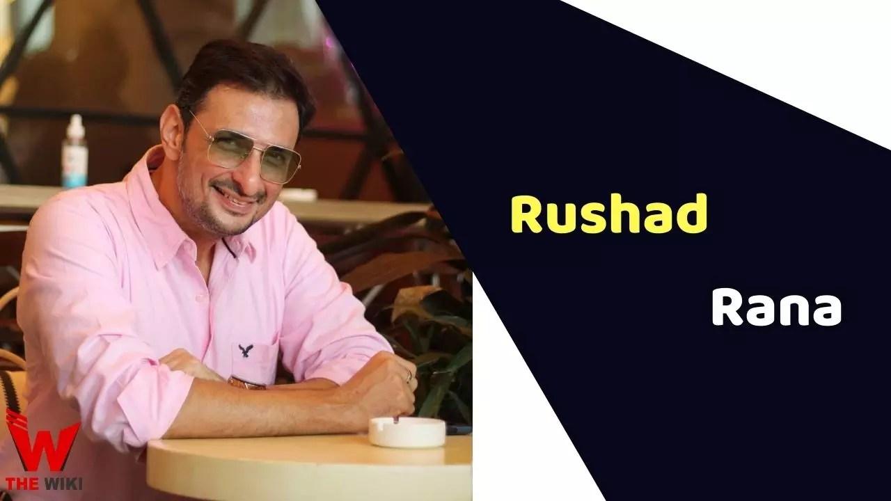 Rushad Rana (Actor)