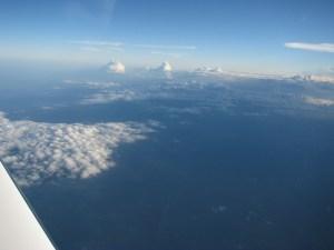 On The Step, Cirrus SR22TN Turbo FL190, flight level 19,000 feet