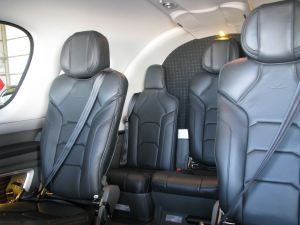 Cirrus Vision SF50 Personal Jet, five passenger plus two pilot seats, photo credit wikiWings