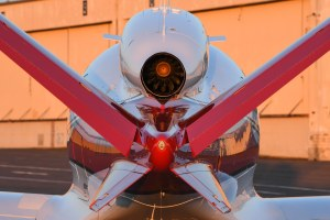 Cirrus Vision SF50 Jet Exterior Engine, photo credit Wired magazine 2017