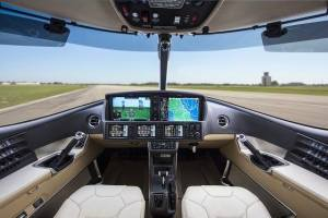 2017 Cirrus SF50 Vision Jet Flight Deck, Cirrus Perspective Touch™ by Garmin,® Credit Garmin Aviation's Photos