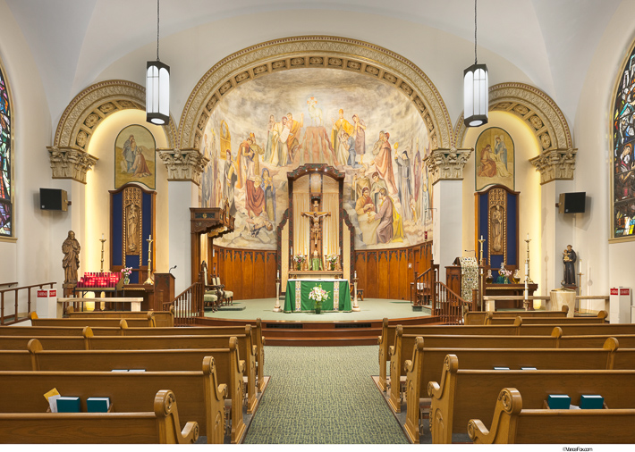 St Thomas Aquinas Cathedral Wikoff Design Studio