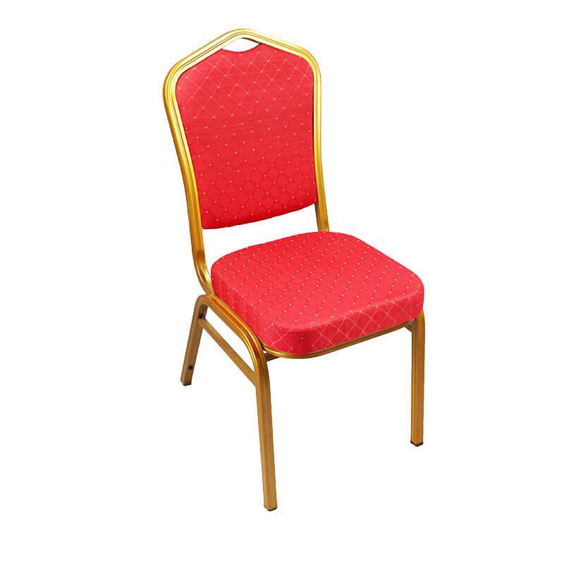 Hotel Furniture Hall Banquet Chair Aluminum Frame Banquet