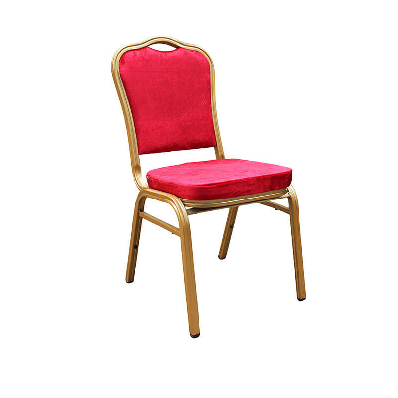 Hotel Banquet Hall Chair Metal Frame Used Banquet Chairs