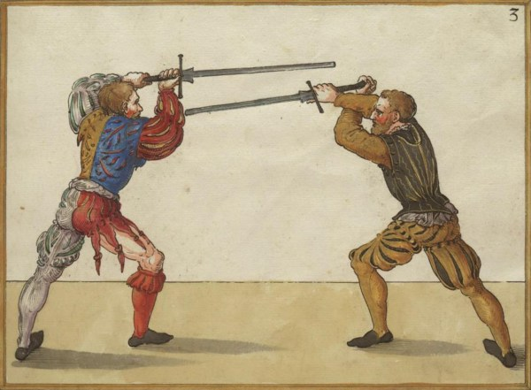 European Sword Fighting Techniques