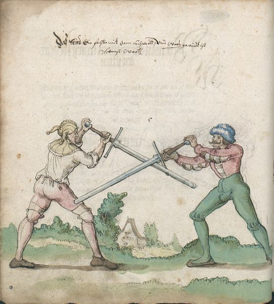 "The ""Mutieren"" technique, shown in the Goliath manuscript: MS Germ.Quart.2020, folio 17v."