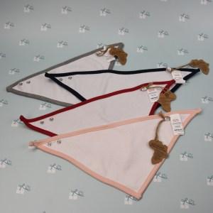 Baby Bandana Latz - Dreieckstuch - alle - Rückseite