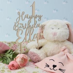 Tortentopper - Happy Birthday - Name1