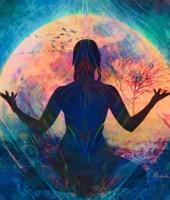The Moon Goddess Glows 450