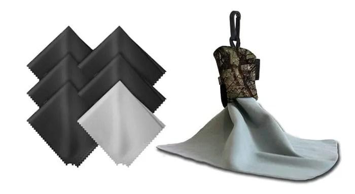 accesorios para el iPhone, toallas de limpieza