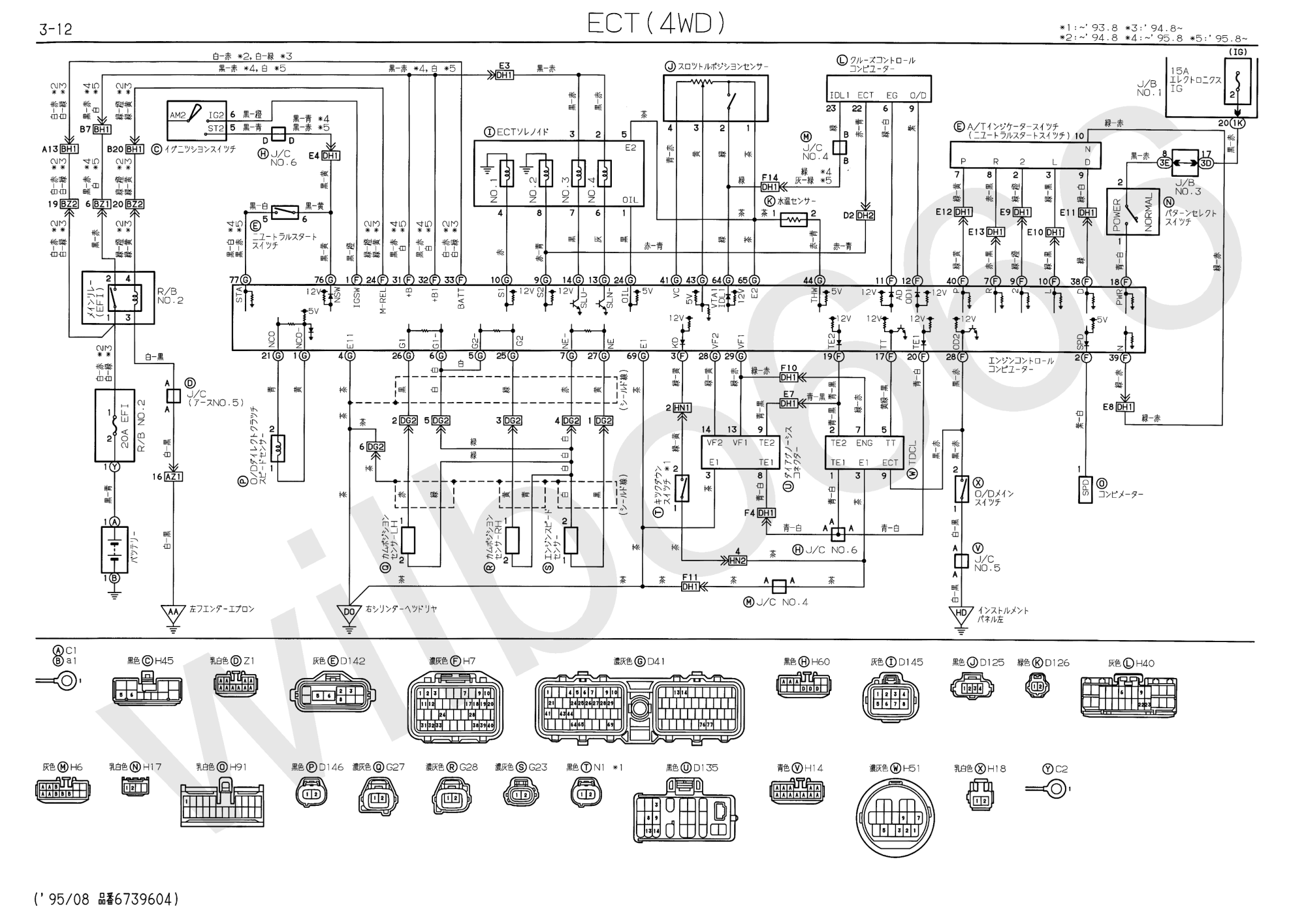 hight resolution of jzs14 uzs14 electrical wiring diagram book 6739604