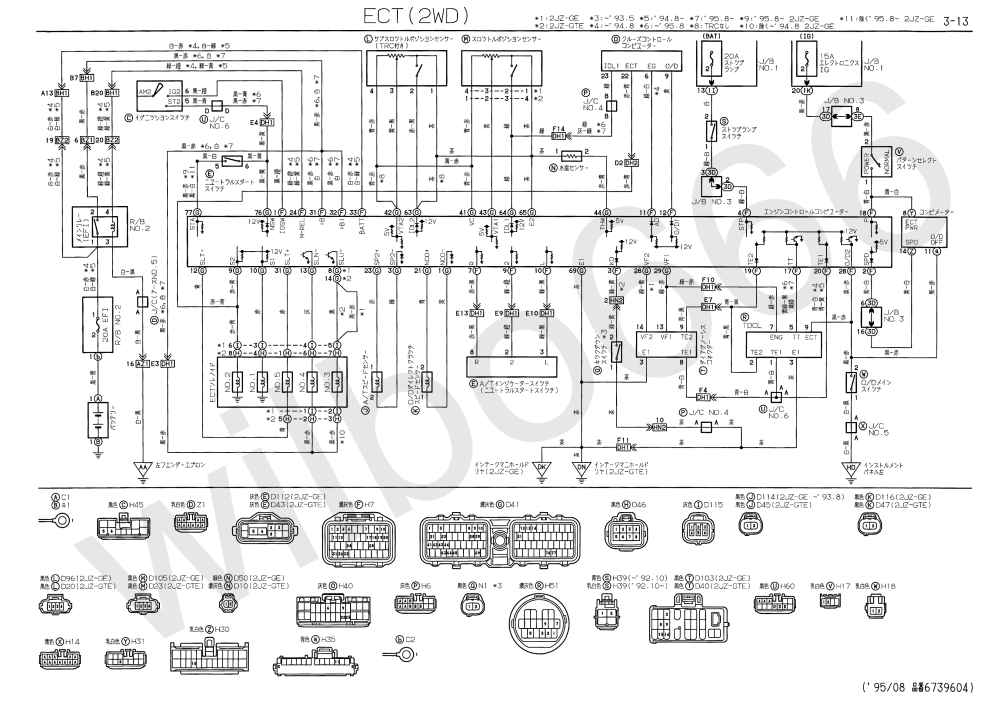 medium resolution of jzs147 toyota aristo 2jz gte wiring diagrams
