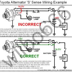 Single Wire Alternator Diagram Electric Motor Wiring Toyota Wilbo666 Alternatorstoyota 1
