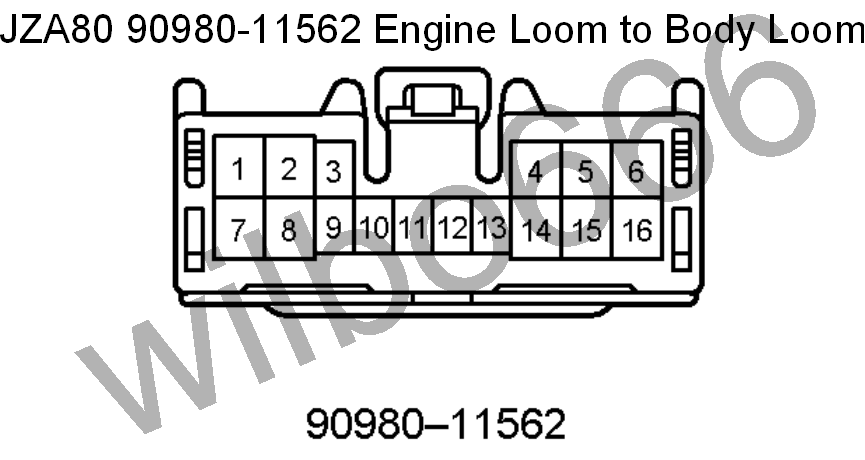 wilbo666 / 2JZ-GE JZA80 Supra Engine Wiring