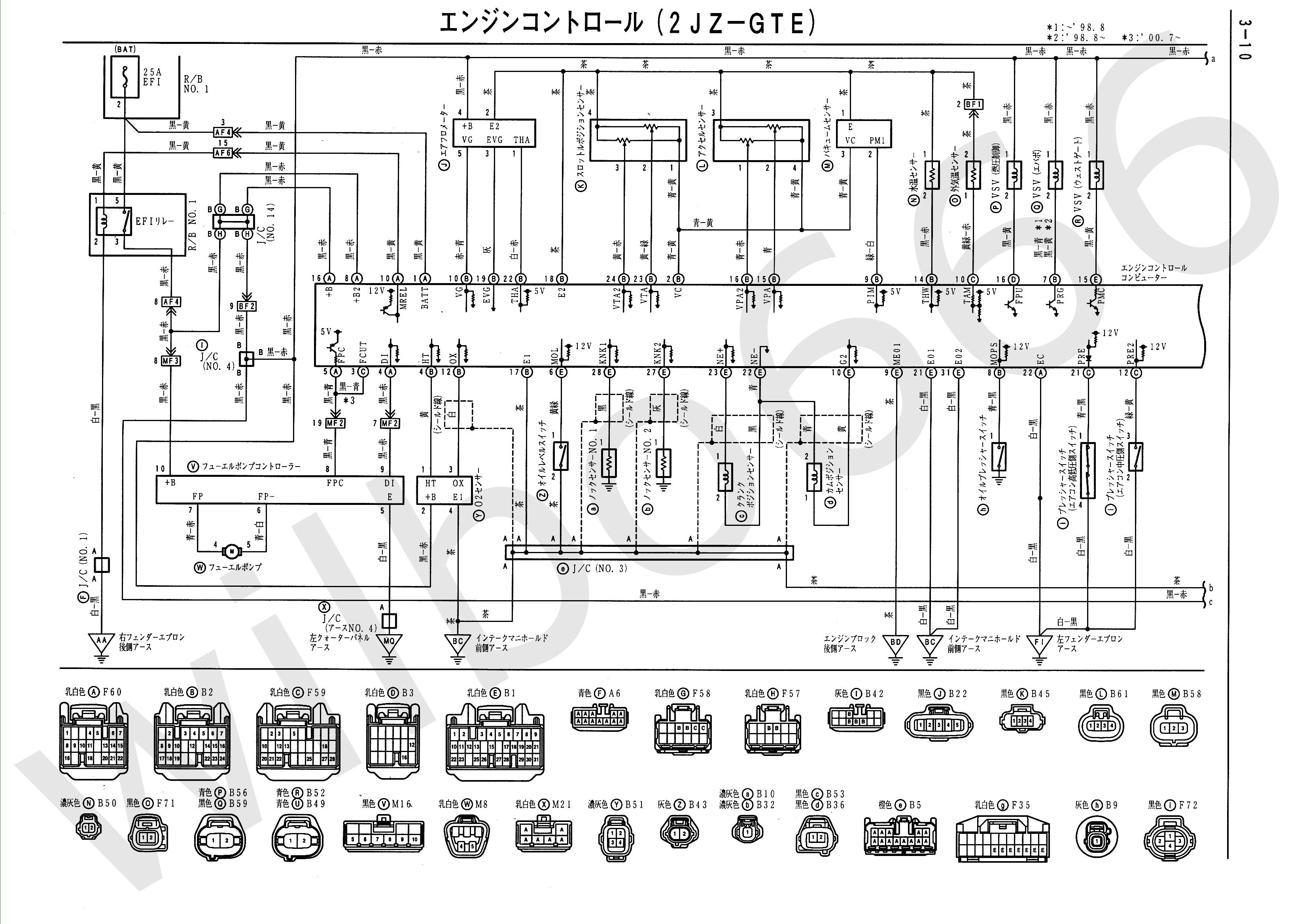toyota wiring diagrams schematics