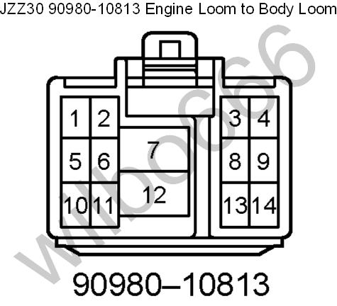 wilbo666 / 1JZ-GTE JZZ30 Soarer Engine Wiring