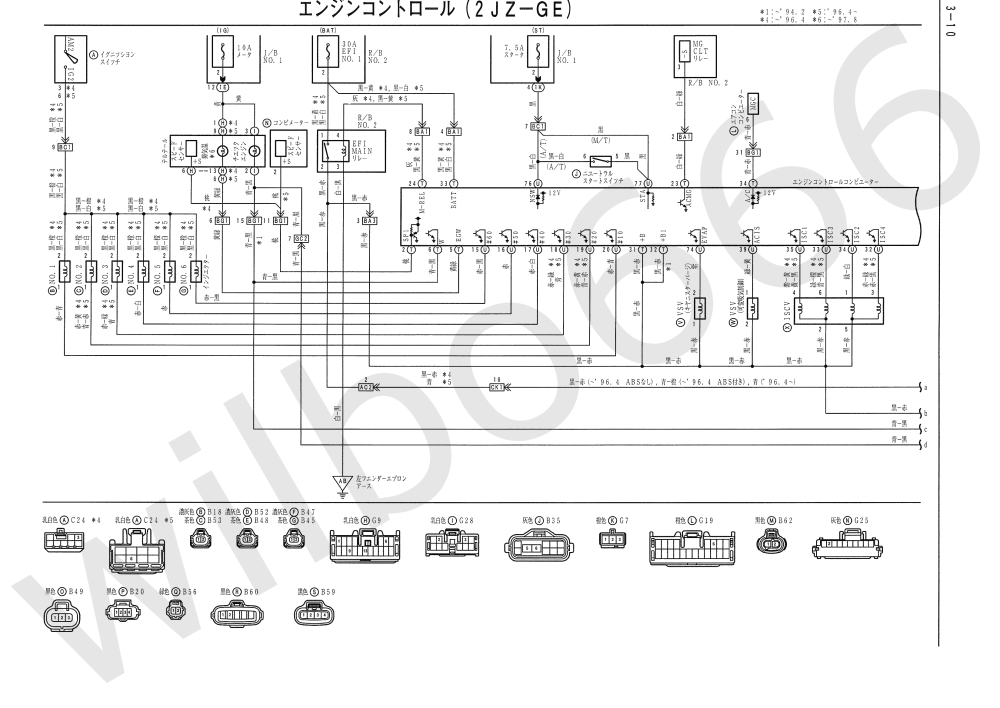 medium resolution of 1985 toyotum supra wiring diagram