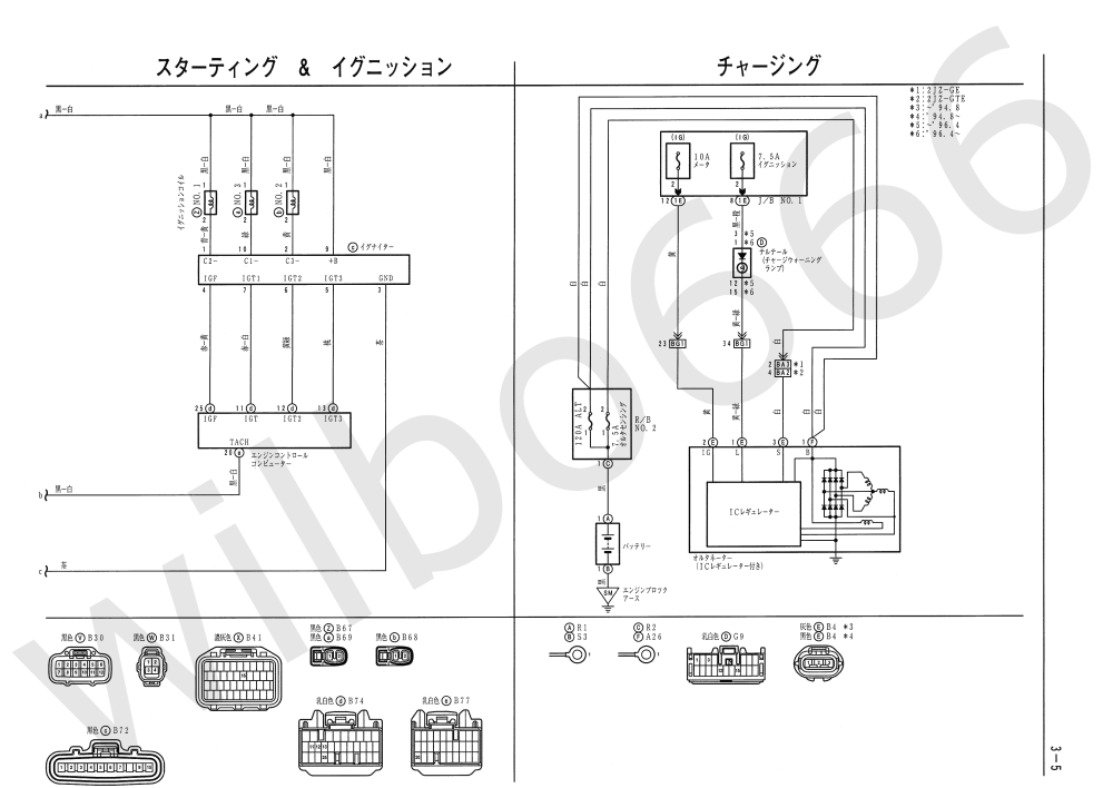 medium resolution of wilbo666 2jz ge jza80 supra engine wiring 1994 toyota supra wiring diagram jza80 toyota supra 2jz