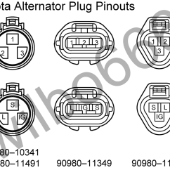1983 Toyota Pickup Alternator Wiring Diagram 99 Ford F250 Nissan Relay 22r Get Free Image