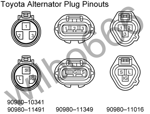 small resolution of toyota alternator diagram wiring diagrams source 85 toyota alternator wiring diagram toyota forklift alternator wiring diagram