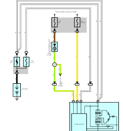 the below wiring diagram taken from the jza80 tsrm shows the general wiring arrangement for alternators with inbuilt regulators  [ 1480 x 1861 Pixel ]