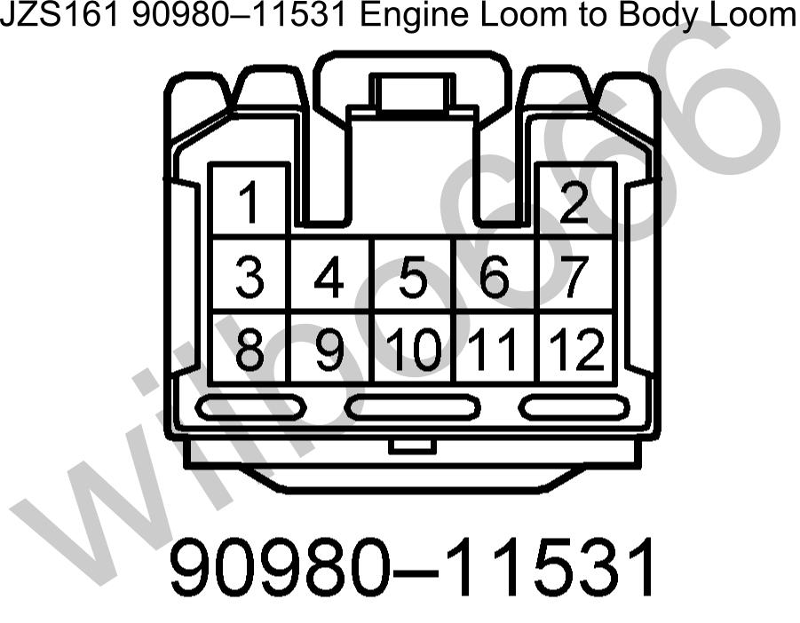 wilbo666 / 2JZ-GTE VVTi JZS161 Aristo Engine Wiring