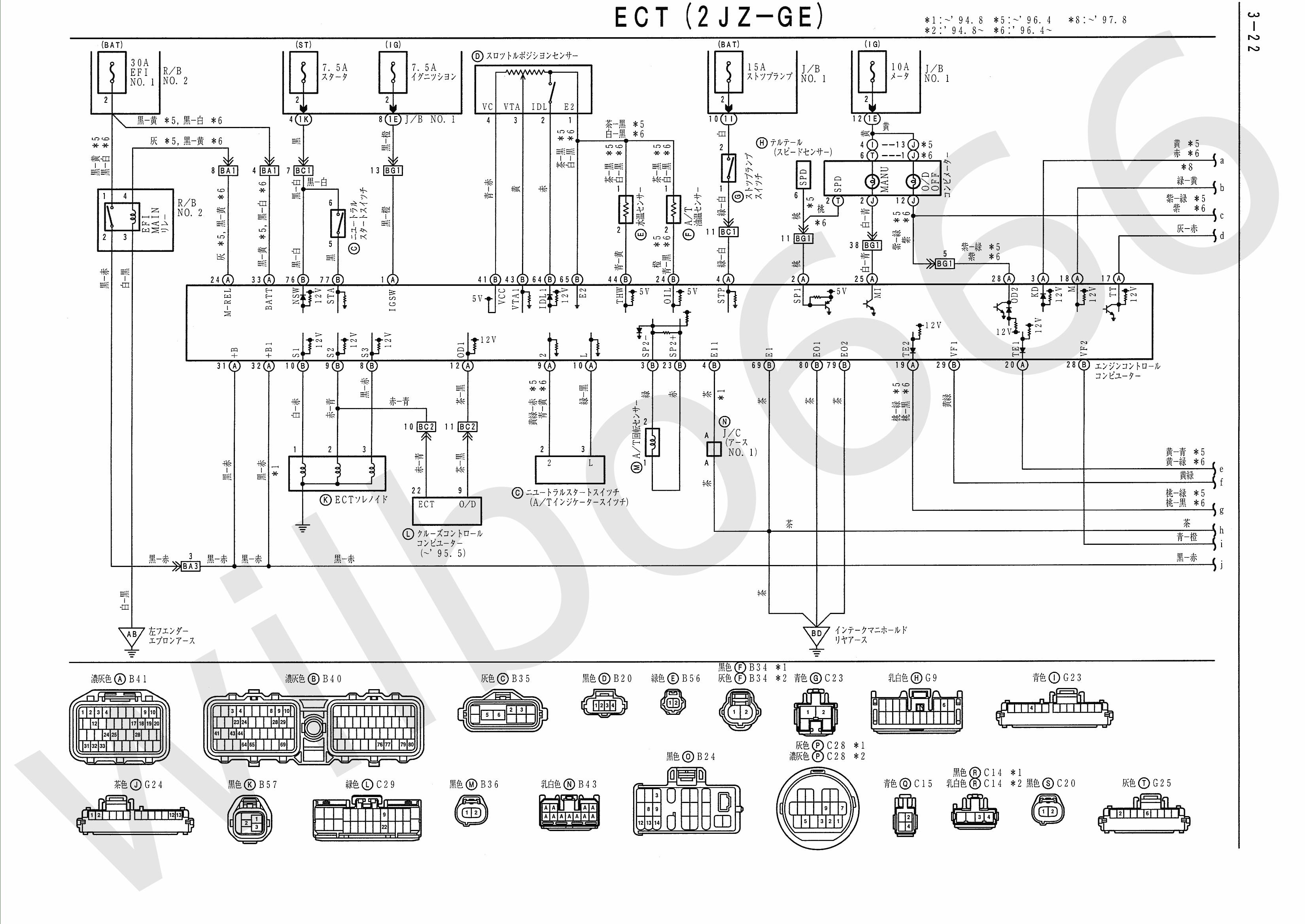 engine bay diagram sc300