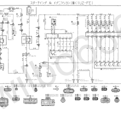 Engine Wiring Diagrams Single Door Access Control Diagram Wilbo666 2jz Ge Jzs147 Toyota Aristo